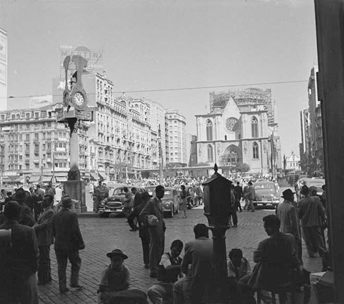 Praça-da-Sé-1954