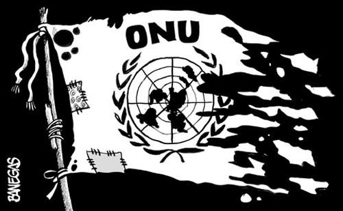 A ingerente ONU esquerdizada
