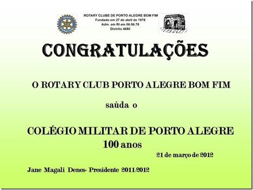 Cem Anos do Colegio Militar