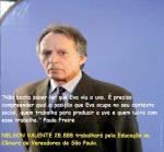 Escritor Nelson Valente para Vereador