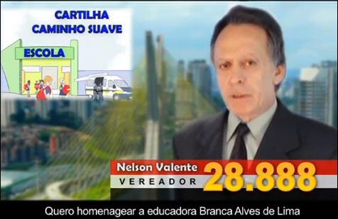 """Homenagem a Educadora Paulista, Branca Alves de Lima, Autora da Cartilha """"CAMINHO SUAVE"""""""