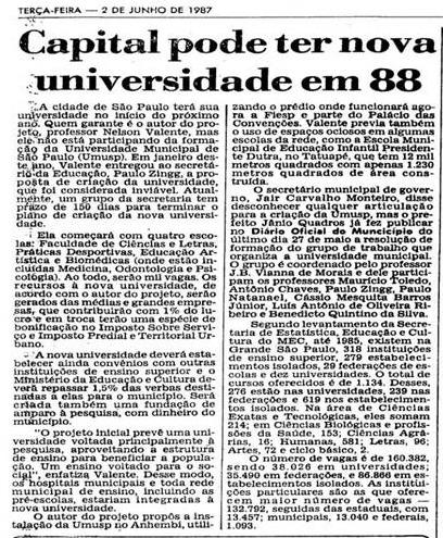 Universidade Municipal 20
