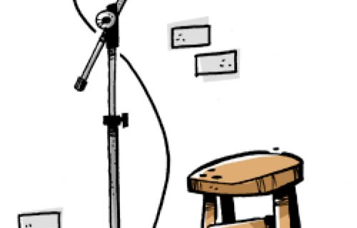 STAND UP DIGITAL… DE PÉ, QUE NEM OS PEITINHOS DA PRINCESA