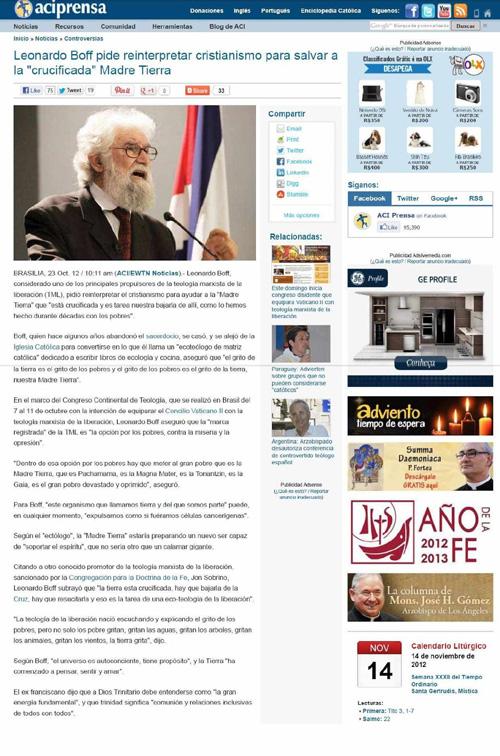 """IPCO - Instituto Plinio Corrêa de Oliveira - Nova """"Religião"""" Ambientalista 34"""