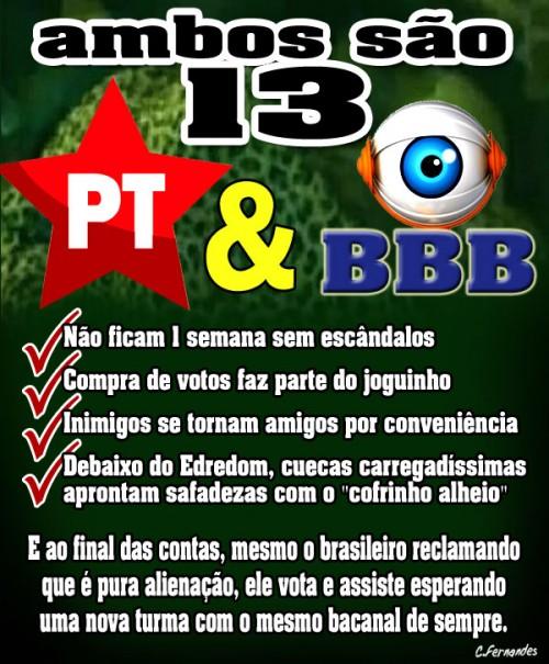 PT-e-o-BBB-13-por-Carlos-Fernandes