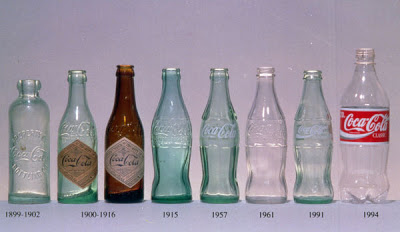 Coca-Cola, a evolução da garrafa 51