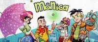 Turma da Mônica na versão mangá!! 23
