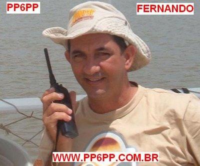 Entrevista com o radioamador Fernando PP6PP