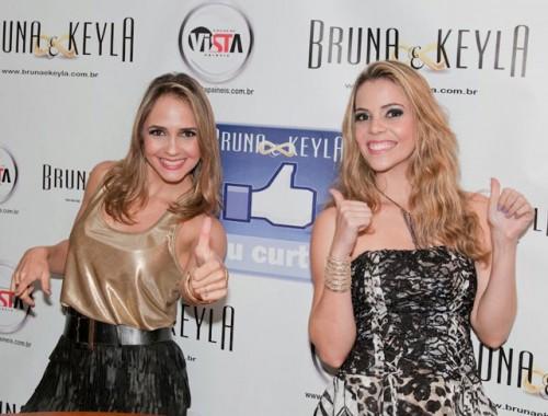 """Bruna & Keyla no """"Oscar"""" da Música Latina 31"""