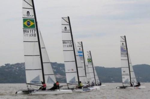 Brasil fica com o título do primeiro Sul-americano da classe Nacra17 30