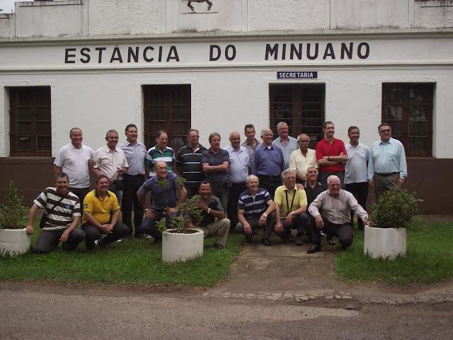 Militares da Reserva e Reservistas de Alegrete Confraternizam  em Santa Maria
