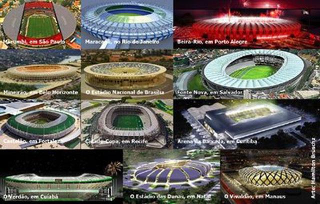 Estádios ou Coliseus 2