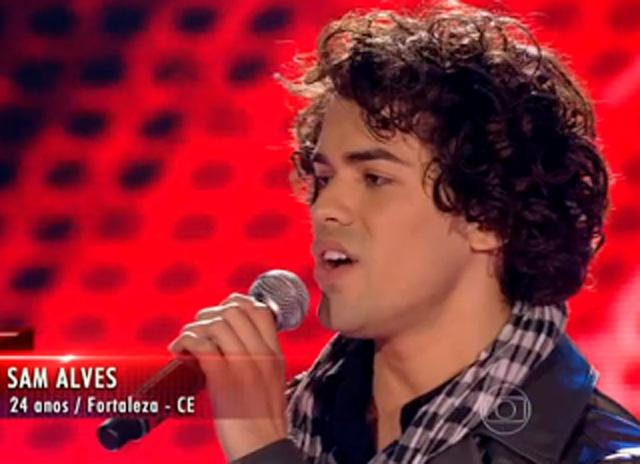 """Sam Alves, a Bola da Vez do """"The Voice"""" 25"""