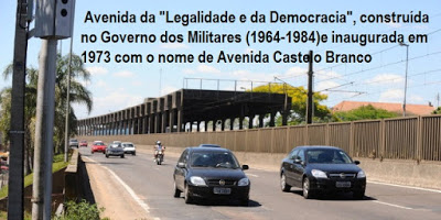 """Avenida da """"Legalidade e da Demagogia"""" 20"""