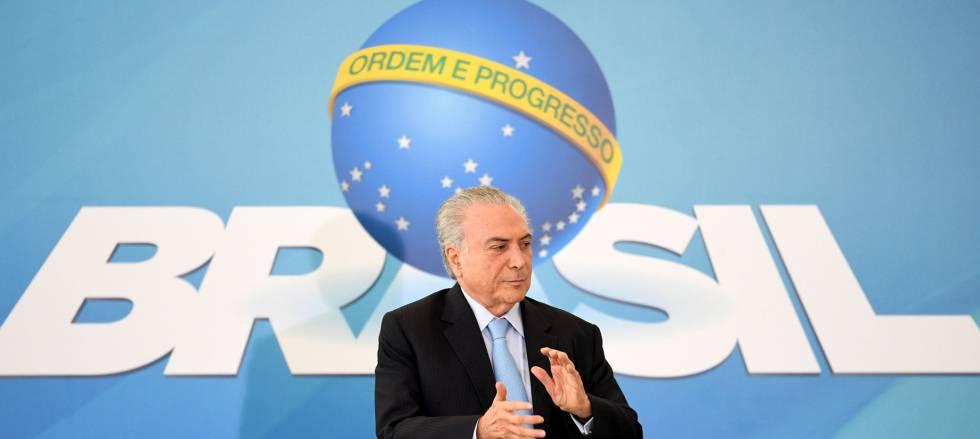 O Brasil e o Presidente Temer 1