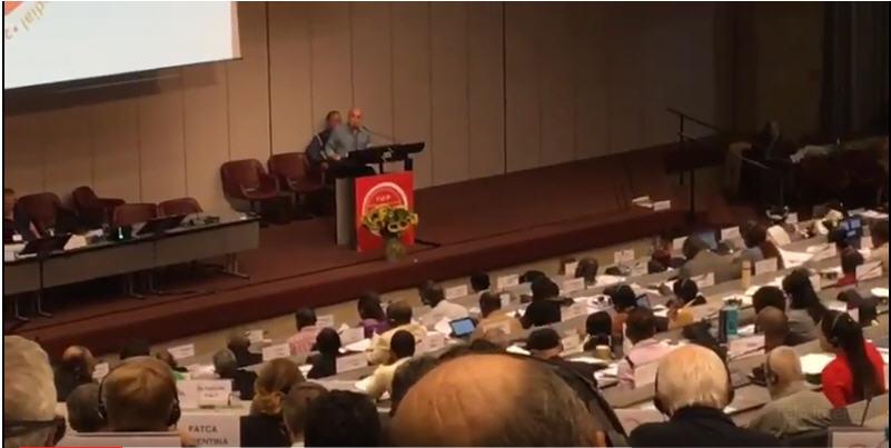 Antonio Carlos Fernandes Entrega em Genebra Denuncia Contra a Reforma Trabalhista 9