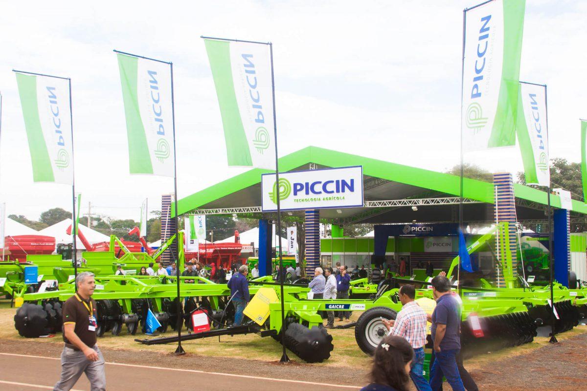 Distribuidores de Adubo Serão Destaques da Piccin na 13ª Fenec 6