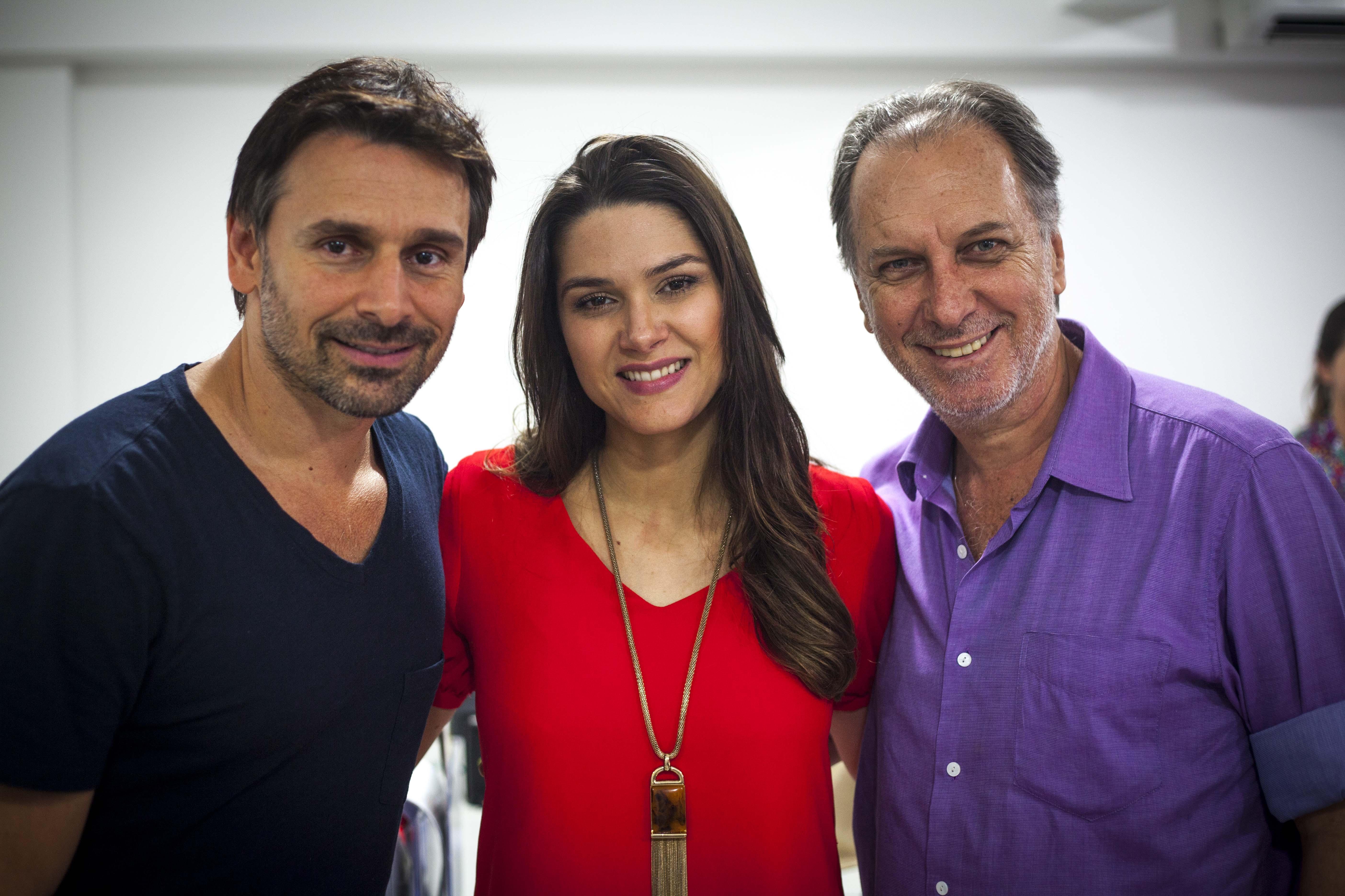 Murilo, Fernanda e Renato