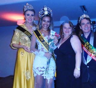 Arisha Lunna e Rodrigo Pavanello, Destaques Brasileiros no Mundo do Glamour