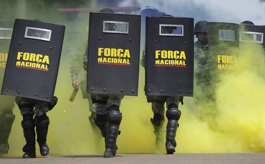 A Força Nacional de Segurança Pública (FNSP), criada em 2004 e localizada no entorno do Distrito Federal, no município de Luziânia, é um programa de cooperação de Segurança Pública brasileiro, coordenado pela Secretaria Nacional de Segurança Pública (SENASP), do Ministério da Justiça (MJ).