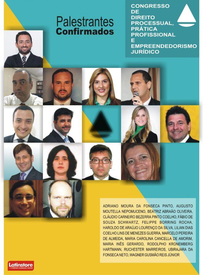 Congresso de Direito Processual, Prática Profissional e Empreendedorismo Jurídico 1