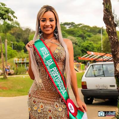 conquistou neste ano, 2017 a cobiçada coroa de Musa da Portuguesa de Desportos