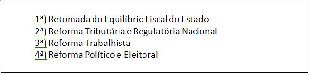 no caso específico do Brasil , são necessárias a aplicação de Reformas profundas no Sistema. depressão