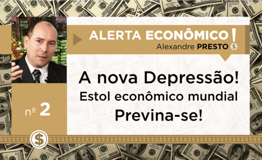 O Cenário econômico que vivemos hoje de Crise ou Recessão, alardeado pela Imprensa Nacional e Internacional está ERRADO, vivemos de fato uma NOVA DEPRESSÃO
