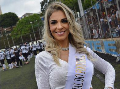 Fernanda Martinelli, Musa Brasileira do Futebol Americano 13