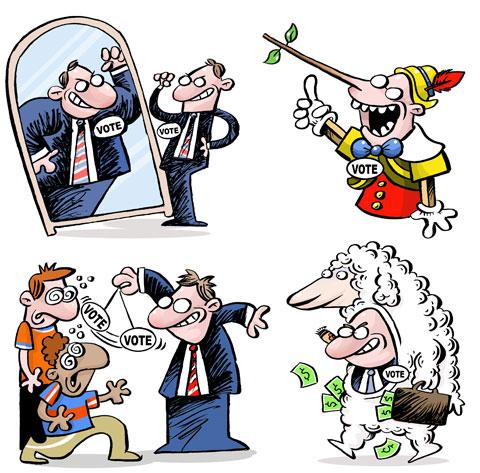 Para homenagear o dia internacional de combate à corrupção (9/12) gostaríamos de reiterar nossa luta pelo fim do político profissional
