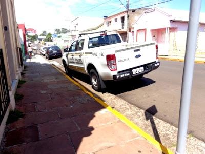 Alegrete-RS: BM toma conta de espaço público 3