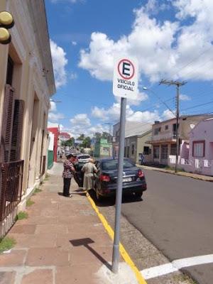 Alegrete-RS: BM toma conta de espaço público 2