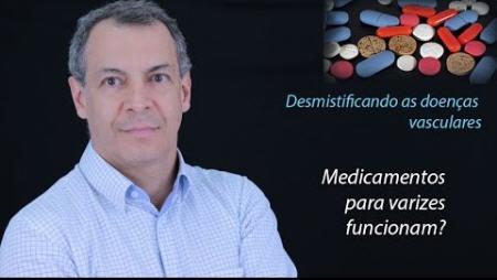 Medicamentos aliviam sintomas em pacientes com varizes