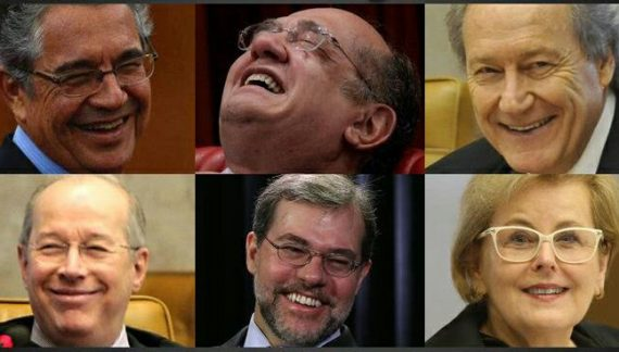 A Corte Decadente da Pátria Tupiniquim