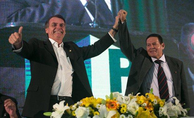 Bolsonaro e Mourão, a candidatura ideal para um basta à criminalidade e à corrupção 23