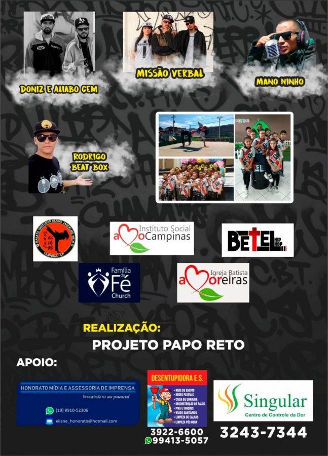 Projeto social Papo Reto realiza evento Família na Escola 6