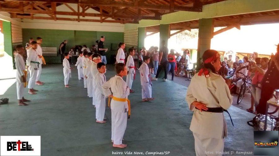 Projeto social Papo Reto realiza evento Família na Escola 1