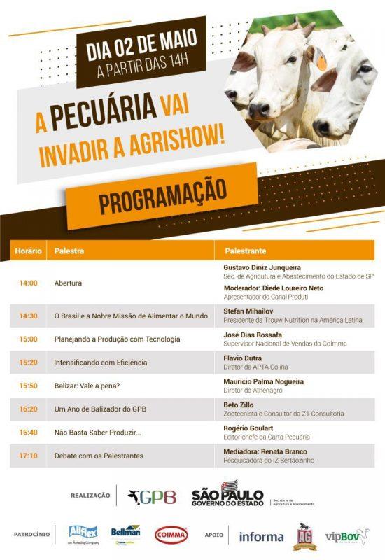 Agrishow 2019 abre espaço para debater a comercialização na pecuária brasileira 20